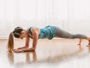 Was ist planking? Der Untersarmstütz
